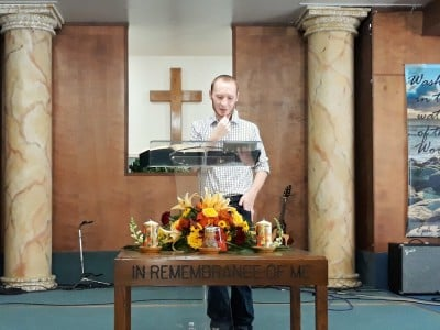 Pastor Phil Ramsey on the Thanksgiving Service 2018